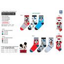Großhandel Socken & Strumpfhosen: Mickey - Pack 3 Socken 70% Baumwolle 18% ...