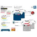 groothandel Kinder- en babykleding: MARVEL COMICS - T-Shirt korte mouwen, 100% wieg