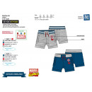 MARVEL COMICS - short poches 75% cotton / 25% poly