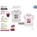 Großhandel Lizenzartikel: Minnie - T-Shirt kurzen Ärmeln Tüll 100% Coto