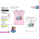 frozen - Short Cuff T-Shirt 100% coton