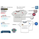 Paw Patrol - 100% coton Short Cuff T-Shirt