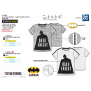 Batman - 100% coton Short Cuff T-Shirt