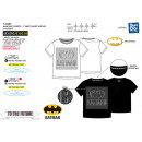 Batman Short Sleeve T-Shirt 100% coton