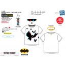 Großhandel Lizenzartikel: Batman Kurzärmliges T-Shirt mit Brille 3