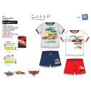 Cars 3 - T-Shirt Set dbl sleeves & shorts 100%