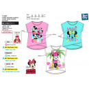 wholesale Licensed Products: Minnie Short T-Shirt Cuff T-Shirt 100