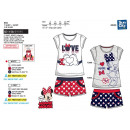 wholesale Licensed Products: Minnie - Short T-Shirt & Shor Set