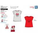 Minnie - Short Cuff T-Shirt with Gathers 10
