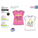 wholesale Licensed Products: My Little Pony - Short Cuff T-Shirt with fr