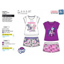 MY LITTLE PONY - ensemble t-shirt manchette courte