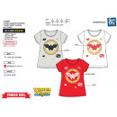 WONDER WOMAN - Short T-Shirt 100% coto