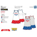 WONDER WOMAN - sleeveless dress 100% coton