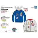 Paw Patrol - zipped hood sweatshirt 65% polyester