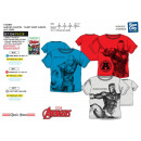 wholesale Licensed Products: Avengers CLASSIC - Short T-Shirt 100%