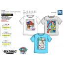 Großhandel Lizenzartikel: Paw Patrol - Kurzes T-Shirt 100% Baumwolle