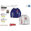 Avengers CLASSIC - zipped hood sweatshirt 65% poly