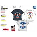 Mickey - T-Shirt manga T-Shirt 100% algodón