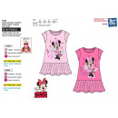 wholesale Licensed Products: Minnie - short sleeve dress 65% polyester / 35%