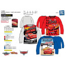 Cars 3 - T-Shirt manga larga 100% algodón