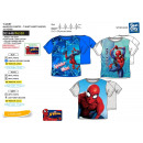 Spiderman - 100% coton Short Cuff T-Shirt