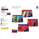 Spiderman - boxer bath sublim dev / back 85% p