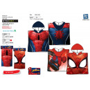 Spiderman - bath cape hood 100% coton