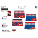 Cars 3 - sublimated bath boxer dev / back 85% p