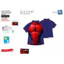 Spiderman - T-Shirt baño 85% poliamida 15% elas