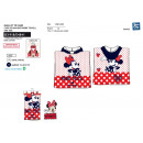 Minnie - bath cape hood 100% coton