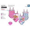 wholesale Swimwear: Paw Patrol - bath 1pc sublime frou 85% polyester /