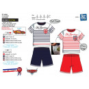wholesale Sleepwear: Cars 3 - Set 2 Pieces Short & T-Shirt 100% Co
