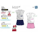 Minnie - pyjacourt T-Shirt & sh prints 100% co