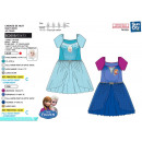 frozen - nightgown 65% polyester / 35% cotto