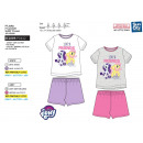 My Little Pony - T-Shirt pyjacourt y algodón 100%