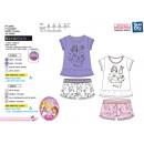 Princess - T-Shirt pyjacourt e stampe sh 100% co