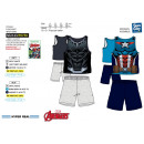 Avengers CLASSIC - pyjacourt deb & sh 100% cot