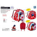 LADY BUG - 100% polyester backpack