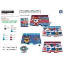 PAW PATROL - lot de 2 boxers imprimes 95% cotton
