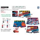 CARS - lot de 2 boxers imprimes 95% cotton