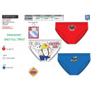 Fireman Sam - box of 3 briefs 100% coton