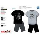 Star Wars IV - T-Shirt pyjacourt y algodón 100% sh