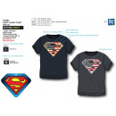Superman - 100% coton Short Cuff T-Shirt