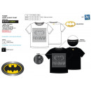 Batman - Short T-Shirt 100% Baumwolle