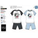 Mickey - T-Shirt pyjacourt y algodón 100% sh