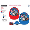Spiderman - sublimated 100% polyester cap