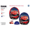 Cars 3 - sublimated cap 100% polyester / 100%