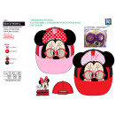 MINNIE - casquette 3d 100% polyester / 100% cotton