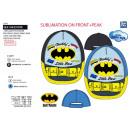 Großhandel Lizenzartikel: Batman - Sublimierte Kappe aus 100% Polyester ...