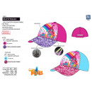TROLLS - casquette sequins 100% polyester / 100% c